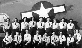 美国空军女子飞行大队纪实