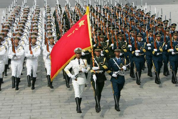 外媒谈中国增加军费