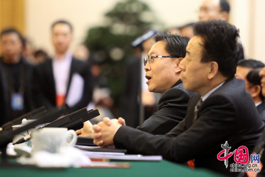 四川省委書記王東明:專注發展 深化改革[組圖]