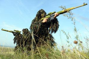 俄军狙击手风采