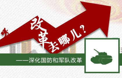 圖解兩會:深化國防和軍隊改革