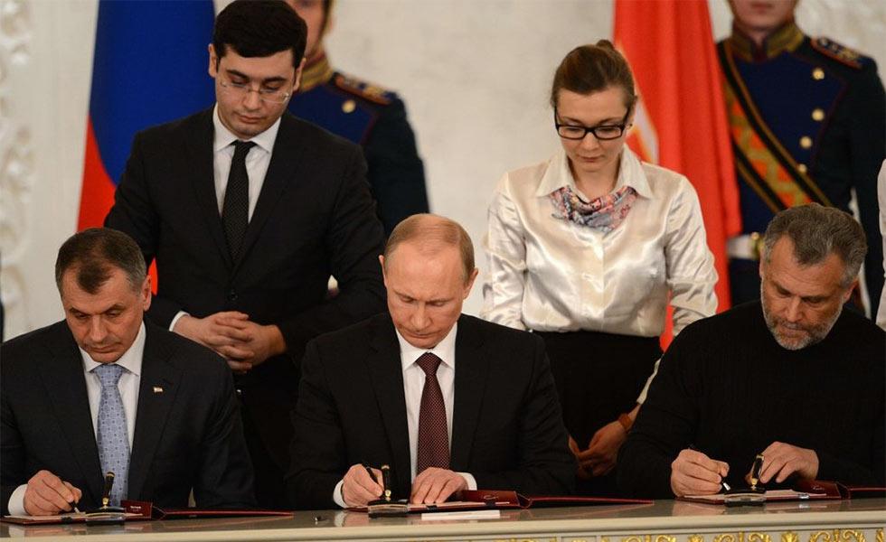 克里米亚 入俄协议_乌克兰暴力冲突升级