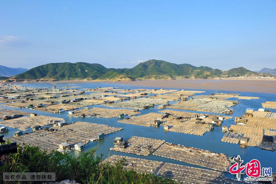 福建霞浦,东安村,海上养殖基地,东方威尼斯,中国网图片库,