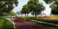 沣河生态景区自行车赛道