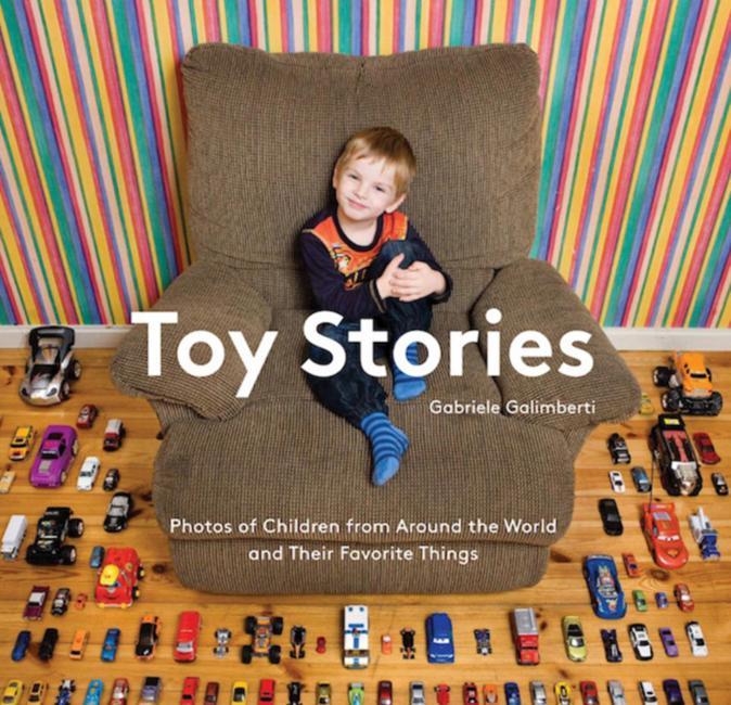 意攝影師拍50余國兒童的玩具世界