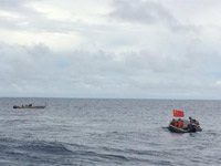 搜寻力量发现两处可疑脉冲信号 中国舰船加大搜寻力度