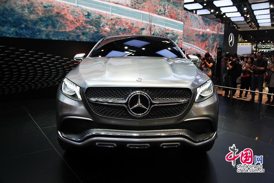 梅赛德斯奔驰发布跨界SUV概念车Coupe SUV