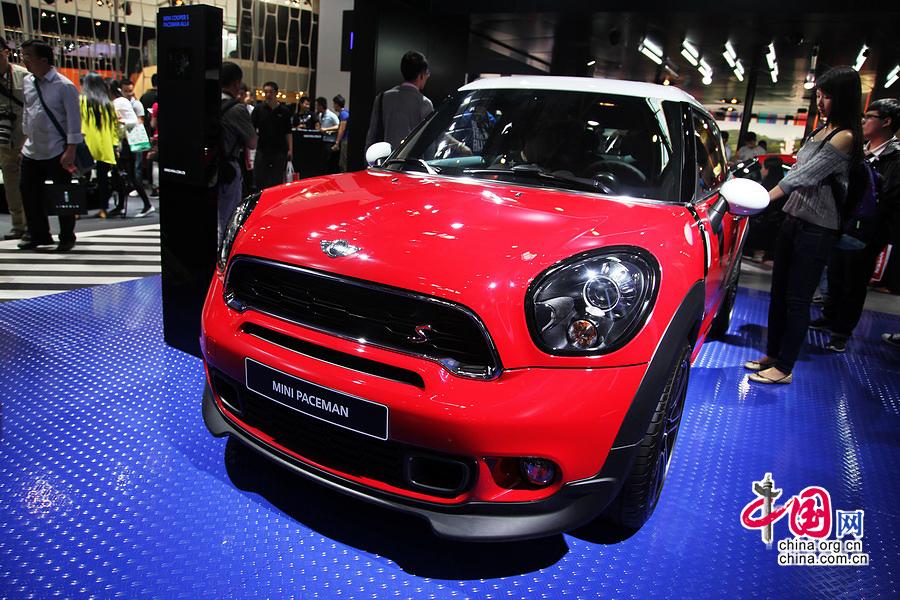 2014北京车展:MINI新PACEMAN发布