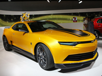 雪佛兰科迈罗TF4概念车发布