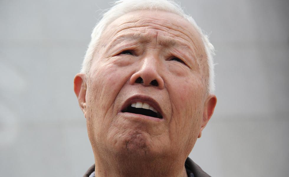 幸存矿工讲述日军侵华罪证