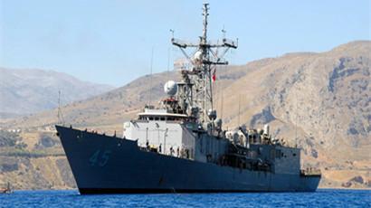 """美国""""佩里""""级护卫舰:冷战产物 维系盟友纽带"""