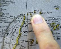 一批中文发音标注钓鱼岛的西方古地图36.8万拍卖[组图]