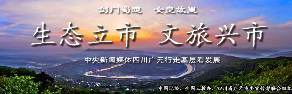 中央新闻媒体四川广元行走基层看发展