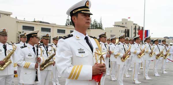 瓦良格号等军舰抵沪 中俄海上联合2014军演3亮点