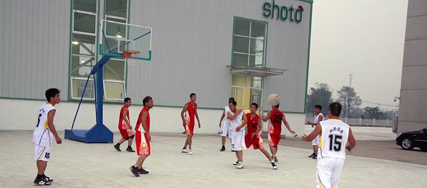 双登集团员工篮球比赛