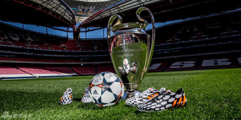 欧冠决赛用球发布图片