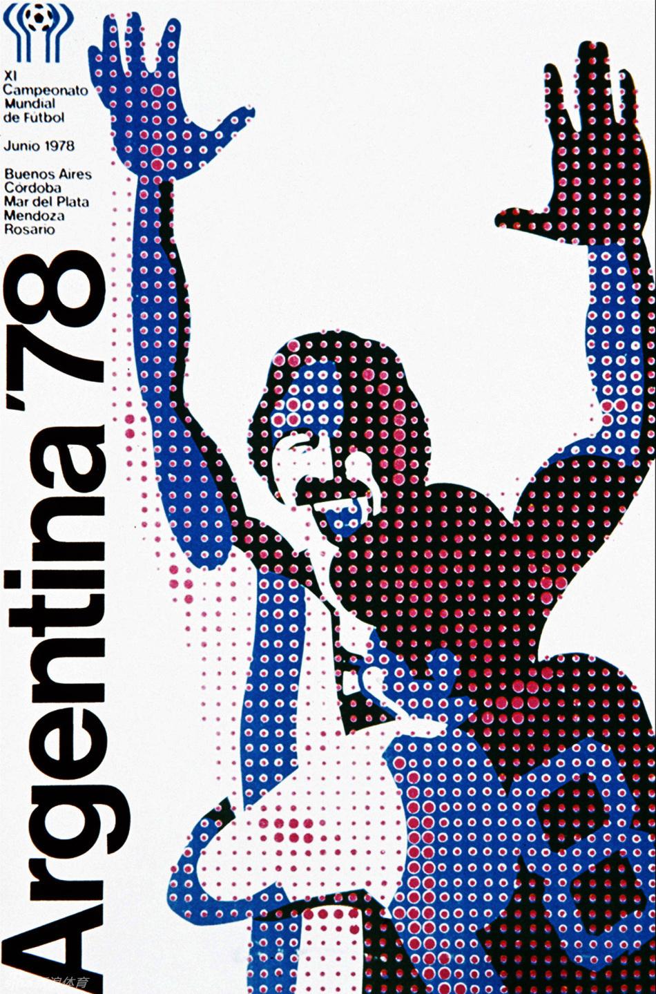 阿根廷手绘海报