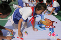 北京向东小学主题绘画活动