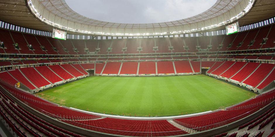 巴西世界盃賽場巡禮