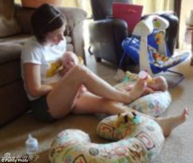美国:可爱的六胞胎