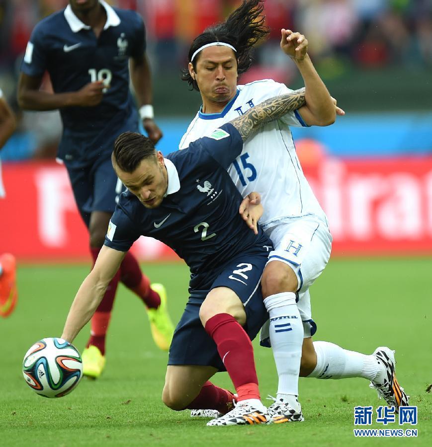 (世界盃)(1)足球——小組賽E組:法國對陣宏都拉斯