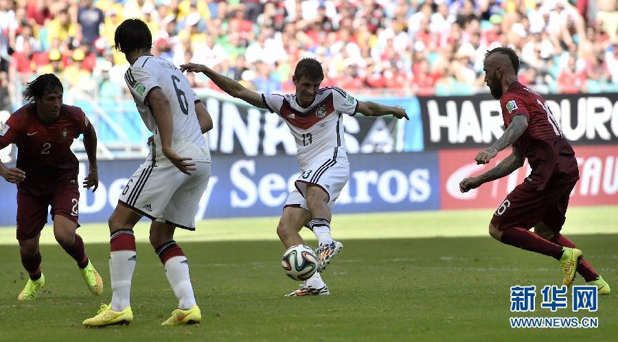(世界盃·進球時刻)(2)足球——小組賽G組:穆勒再入一球