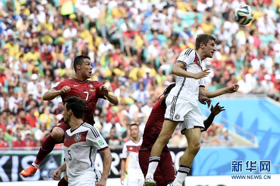 (世界盃)(36)足球——小組賽G組:德國對陣葡萄牙