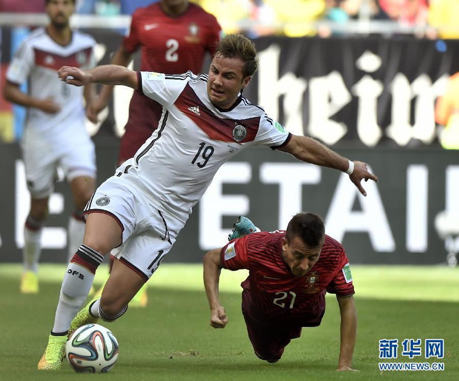 (世界盃)(34)足球——小組賽G組:德國對陣葡萄牙