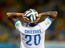 巴西世界盃:19日十佳鏡頭[組圖]