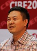 安徽天康新能源有限公司经理王新国接受CIBF电池展新闻中心采访