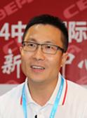 深圳市万拓电子技术有限公司总经理孙中伟接受CIBF电池展新闻中心采访