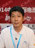 千翊电子科技(东莞)有限公司经理黄千书接受CIBF电池展新闻中心采访