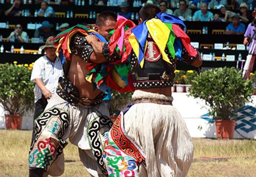 内蒙古那达慕 融入现代竞技元素