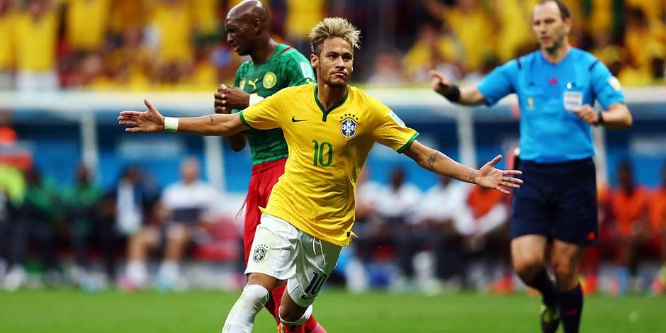 巴西世界盃24日十佳鏡頭 內馬爾排射手榜首[組圖]