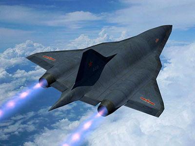 网友推测的中国未来隐身战略轰炸机样子