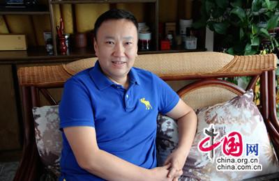 鼎盛•彼昂教育董事长刘宏冰做客中国网教育频道