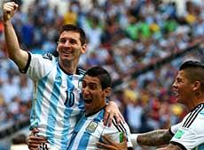 巴西世界盃26日十佳鏡頭