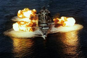 光辉岁月:实拍美国史上最强大超级战舰