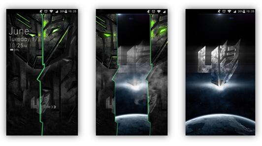 微乐推出《变形金刚4:绝迹重生》动态壁纸