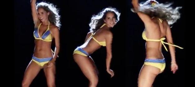 2014世界杯小姐变比基尼精灵纵情热舞