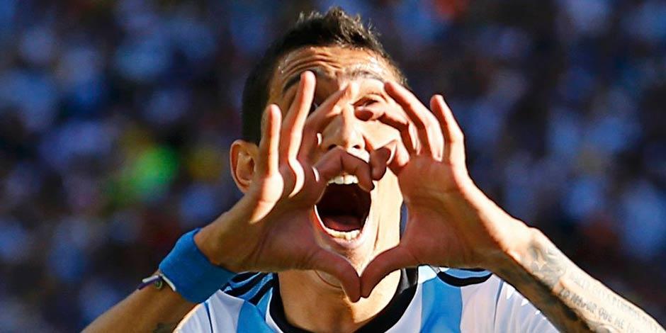 阿根廷晉級八強 迪瑪利亞絕殺瑞士[組圖]