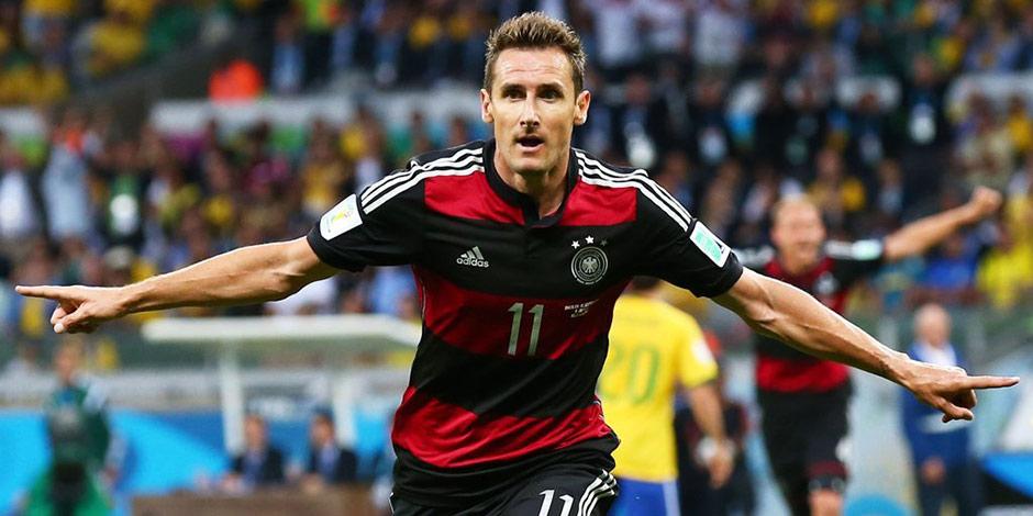 德國7:1虐巴西 克洛澤16球超大羅成世界盃最佳射手