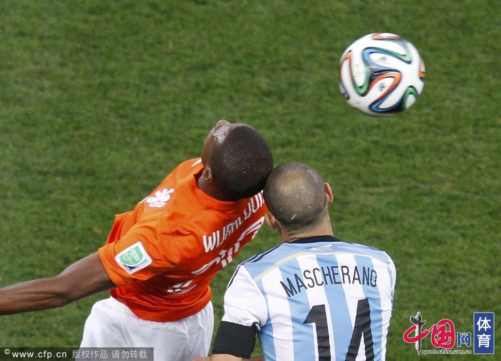 高清:世界杯半决赛 荷兰VS阿根廷