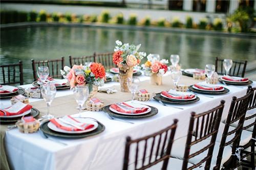 西式婚礼婚宴餐桌布置攻略