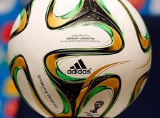 """2014巴西世界盃決賽用球——""""桑巴榮耀·決戰裏約""""[圖]"""