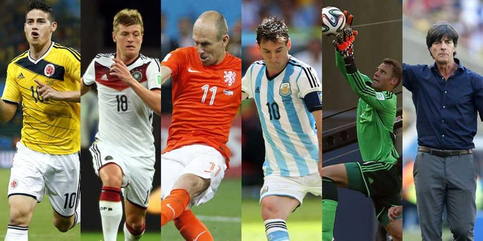 新華社前方報道團評出巴西世界盃最佳陣容