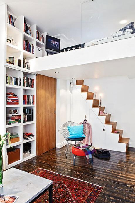 妙趣横生巧设计 小户型客厅装修案例