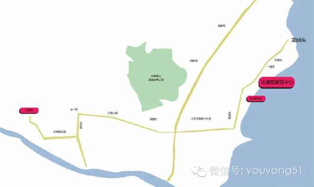 中国国际泳装展比基尼展馆线路图及公交线路