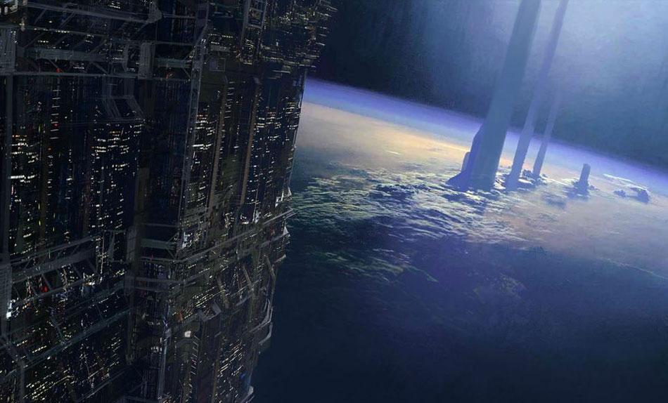 惊叹艺术家绘2084年城市图 - 天下奇闻 - 天下奇闻
