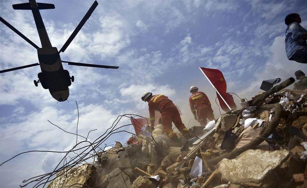 鲁甸地震灾区直击